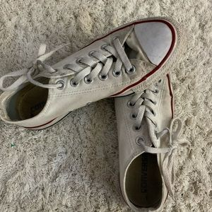 White Low tip Converse